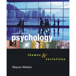 Saving money on college textbooks - psychology